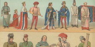 Одежда средневековья